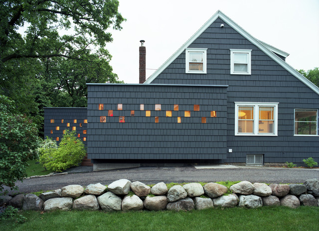 cape cod house exterior design. Minneapolis Extension contemporary exterior  Contemporary Exterior by
