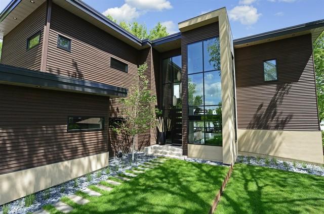 Minnetonka Modern contemporary-exterior