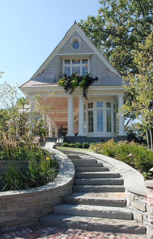 Minnetonka Shingle-Style traditional exterior