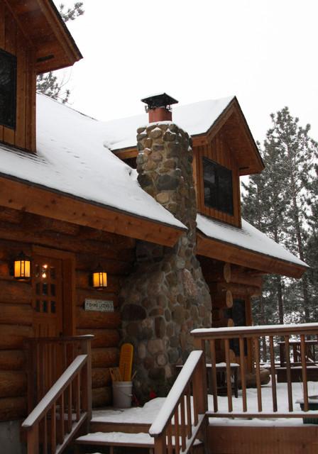 Minong Cabin rustic-exterior