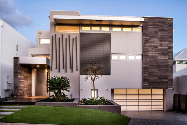 Modern Front Elevation Perth : Minum cove concept home perth wa contemporary