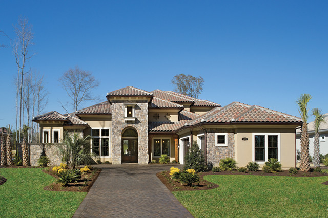 Mirasol 1205 mediterranean exterior tampa by for Luxury home models