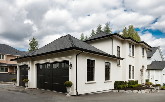 Mission Custom Home - Contemporary - Exterior - vancouver ...