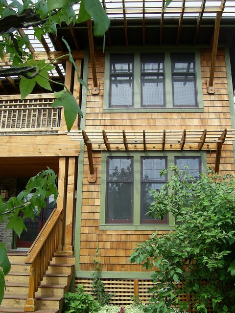 Mission Style Porch, Northern California exterior