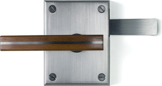 Moda Stainless Steel Contemporary Gate Latch - Contemporary - Exterior - by 360 Yardware