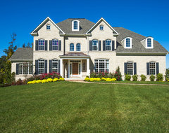 Model Home Hereford Homes Piscataway Landing traditional-exterior