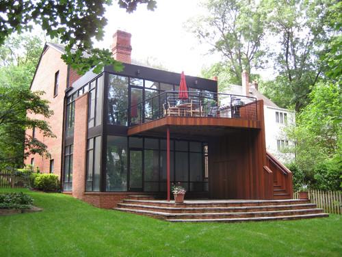 Contemporary Exterior by Washington Architects & Building Designers William L. Feeney Architect LLC