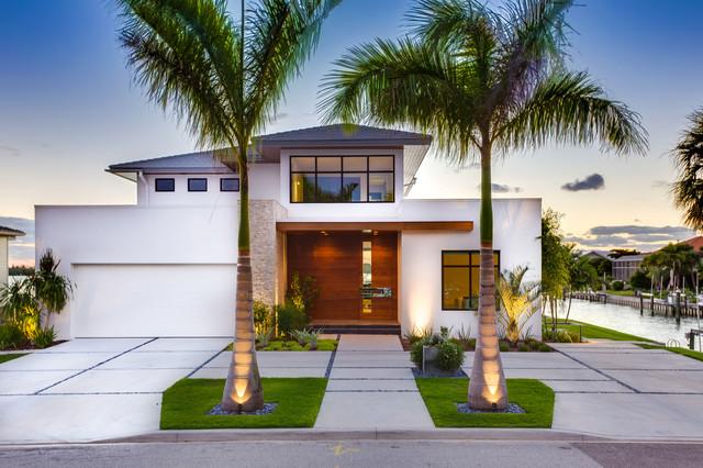 Modern beach bungalow for Bungalow modern einrichten