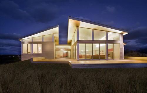 Green Home Design and Zero Energy Home modern exterior