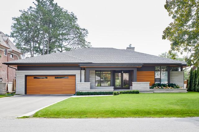 Modern Bungalow - Contemporary - Exterior - Toronto - by ...