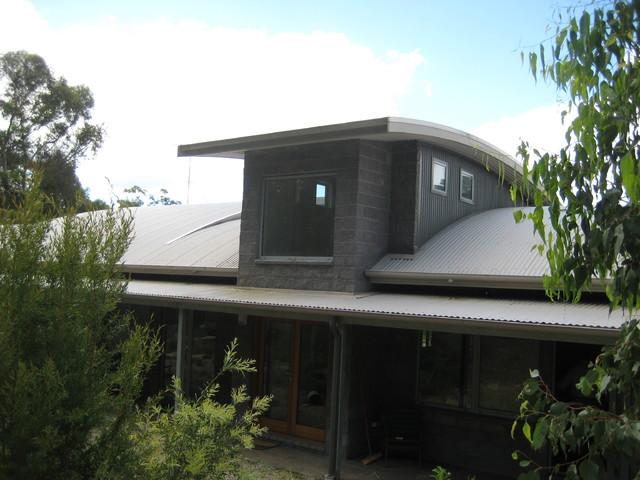 Modern bush home contemporary exterior sydney by for Bush house designs