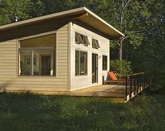 Modern Cabin contemporary-exterior