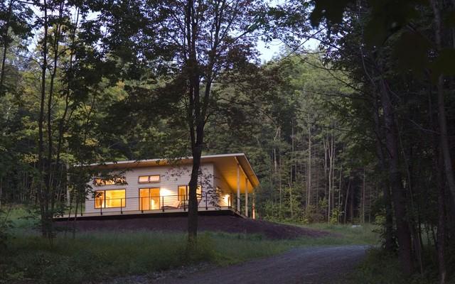 Modern Cabin Modern Exterior Burlington By Joan