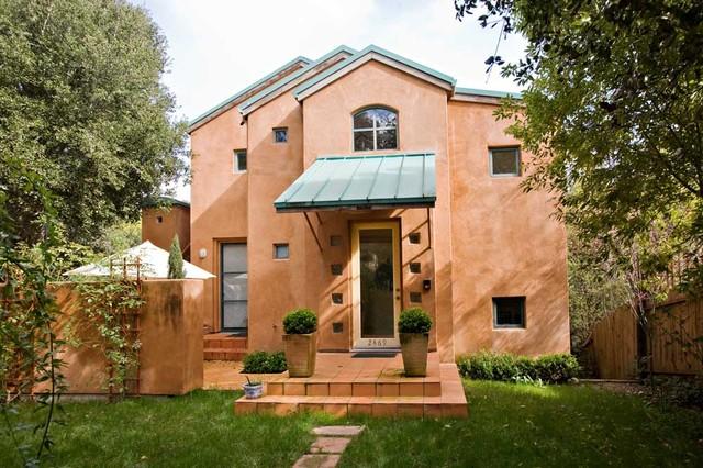 Modern California Style Tuscan Villa With Standing Seam