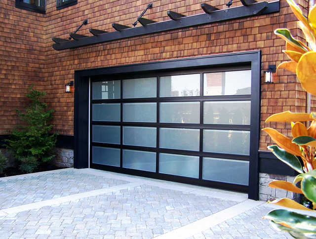 Modern Classic Black Anodized Modern Exterior
