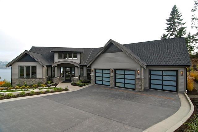 Garage Door Sales U0026 Installation. Modern Classic Dark Bronze Anodized  Contemporary Exterior