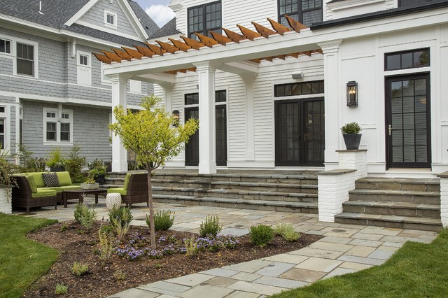 Modern Colonial Four Squaretransitional Exterior Minneapolis