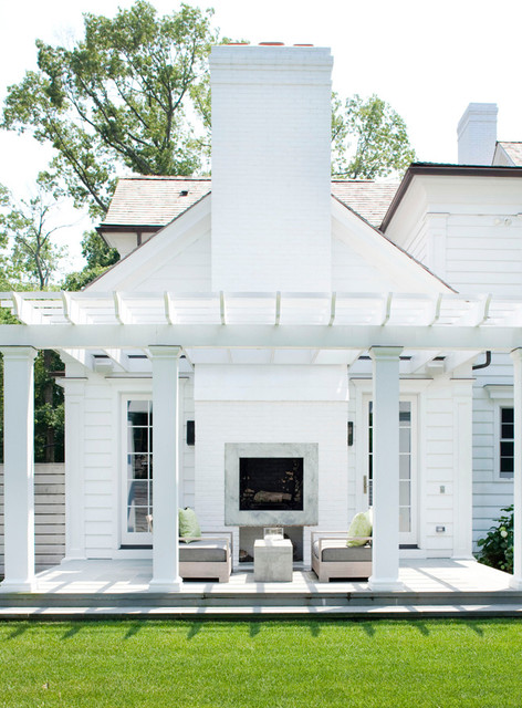 Modern Colonial Traditional Exterior New York By