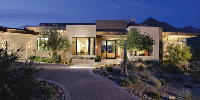 Modern contemporary custom home build contemporary for Custom modern home plans