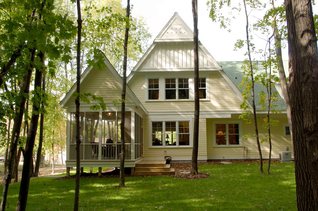 Modern Cottage Exterior traditional-exterior