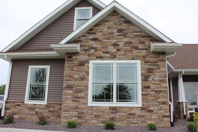 Modern Craftsman Style Home craftsman-exterior