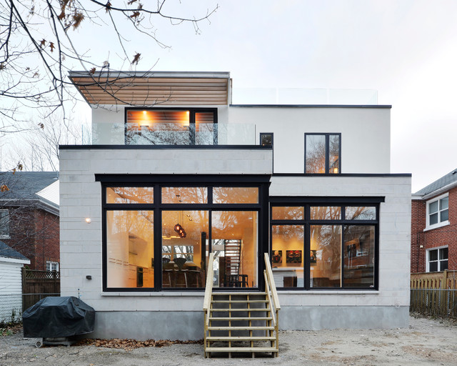 Modern custom home modern exterior ottawa by for Modern house design ottawa