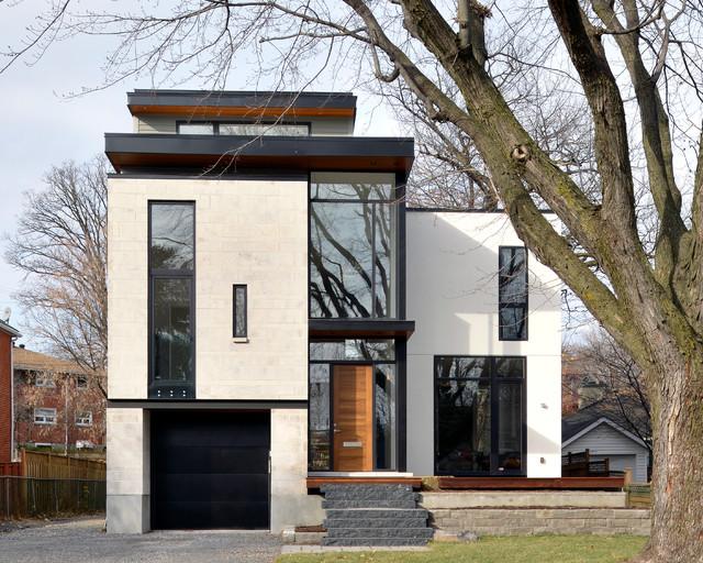 Modern custom home modern exterior ottawa by for Modern house design ottawa