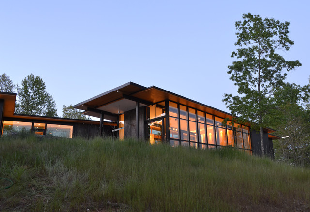 Modern Mountain Home | Houzz