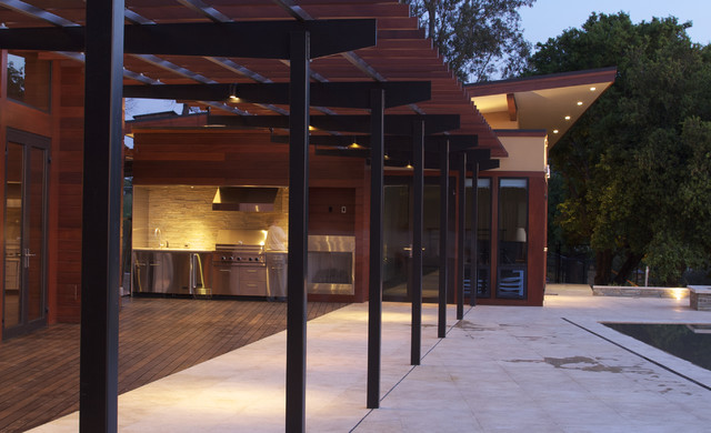 Outdoor Kitchen Modern Exterior Other Metro By