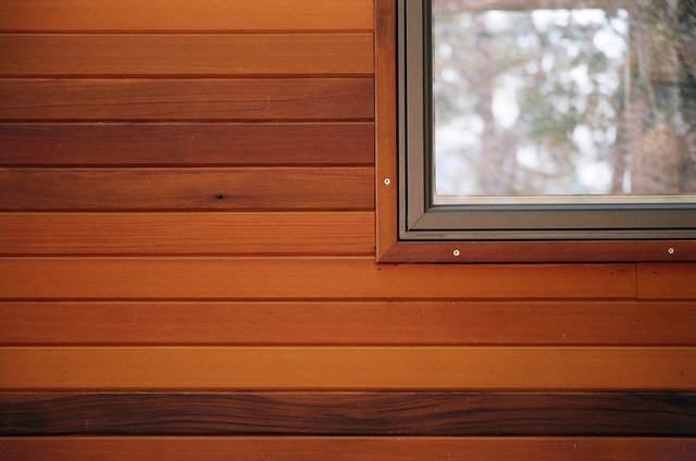 Brown bar exterior modern exterior new york by for Modern exterior wood siding