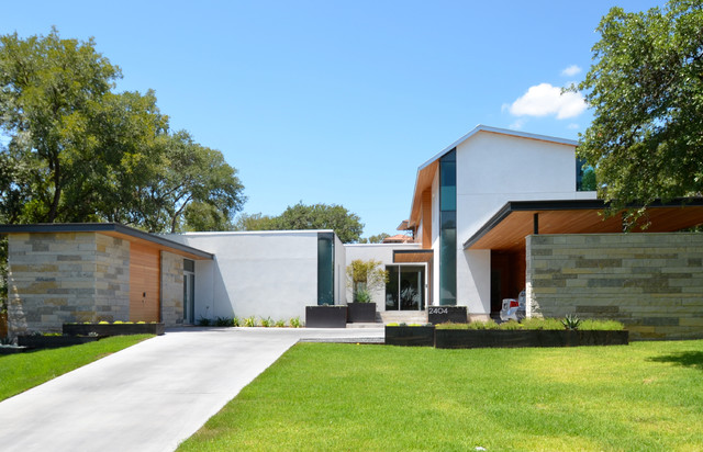 Vance Lane Modern Home modern-exterior