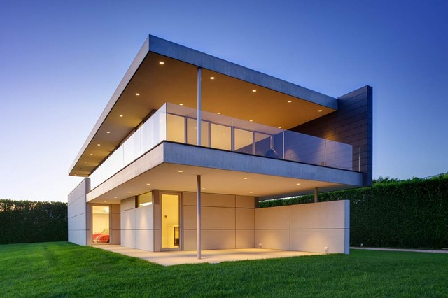 Stelle Architects Ocean Residence Guest House Modern Exterior