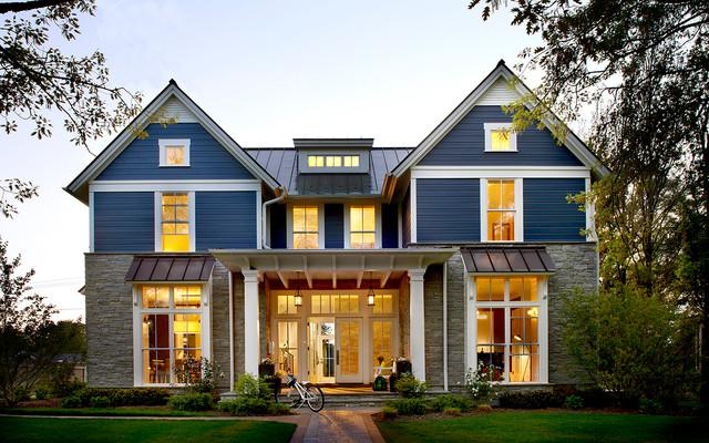 Nauhuri.com | Landhausstil Haus Modern ~ Neuesten Design ... Moderner Landhausstil Einrichtung Fassade