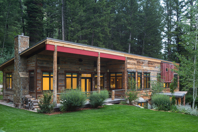 Modern Farmhouse Exterior Rustic Exterior Other By Grace Home Design