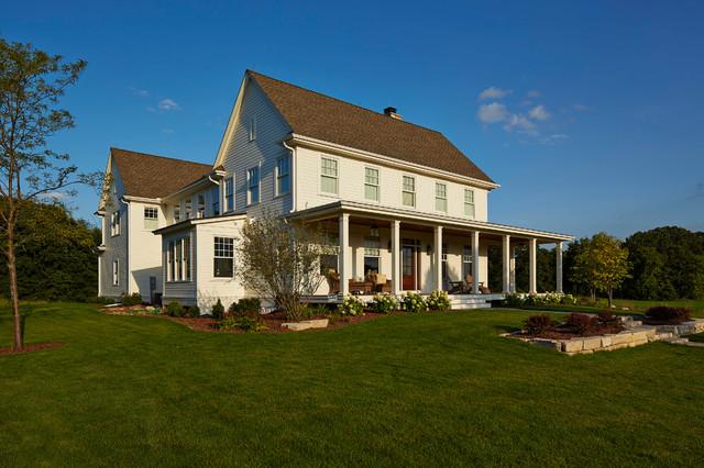 Modern Farmhouse Farmhouse Exterior minneapolis by Hendel Homes