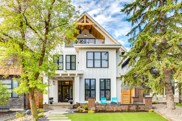 Modern Farmhouse in Altadore - Farmhouse - Exterior - Calgary - by ...