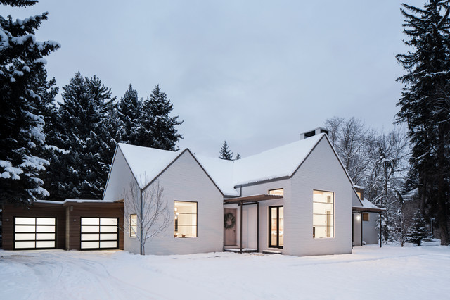Modern Farmhouse Scandinavian Exterior Salt Lake