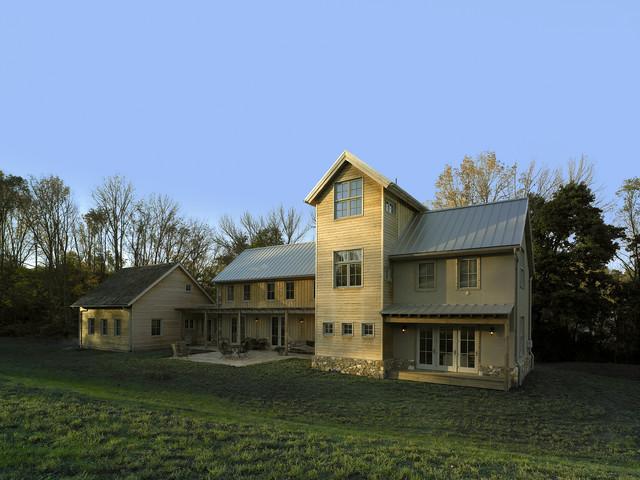Modern Farmhouse Contemporary Exterior Philadelphia