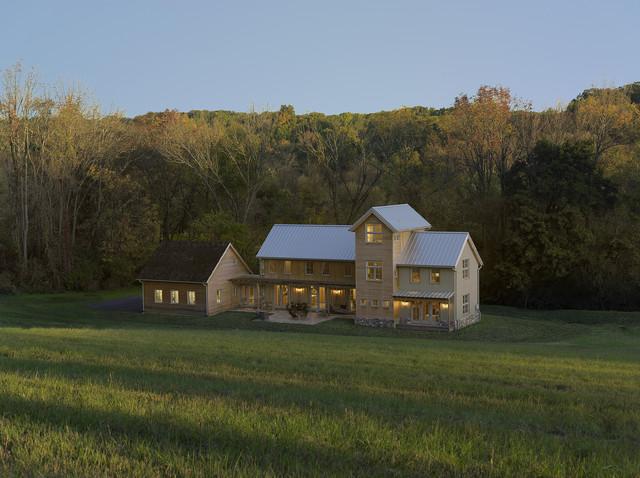Modern Farmhouse Contemporary Exterior
