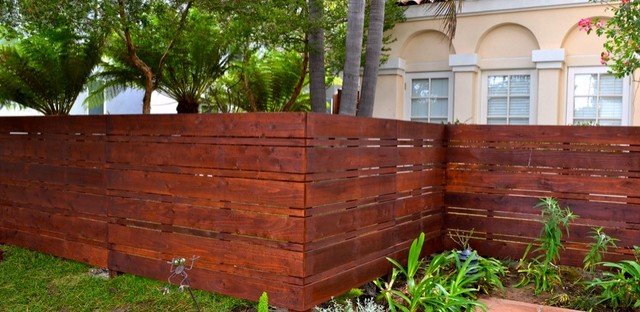 Modern Fences contemporary-exterior - Modern Fences - Contemporary - Exterior - Los Angeles - By Harwell