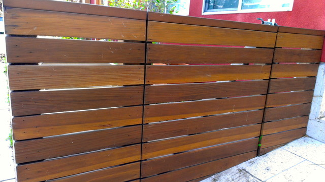 Modern Fencing Modern Exterior Los Angeles By