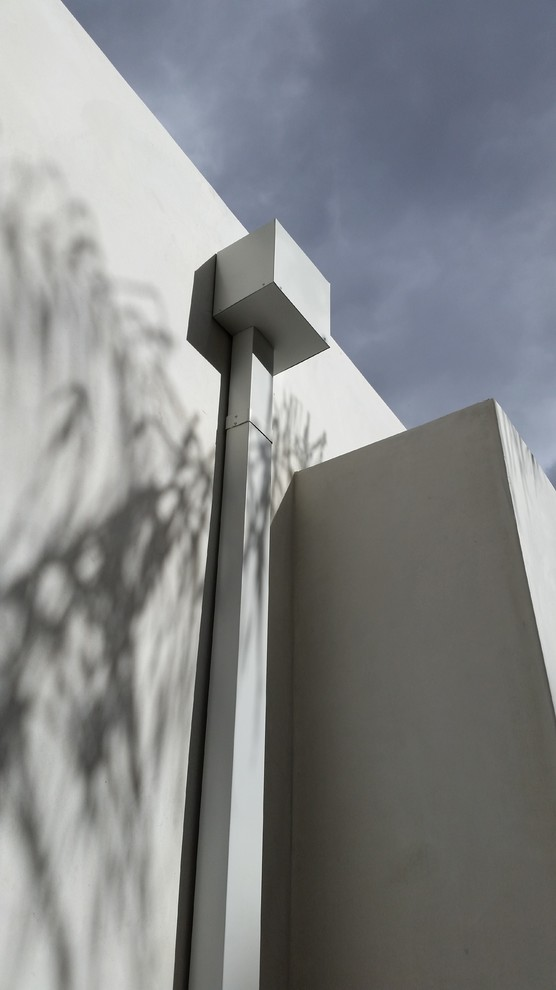 Modern Flat Roof Scupper Collector Boxes in Sherman Oaks