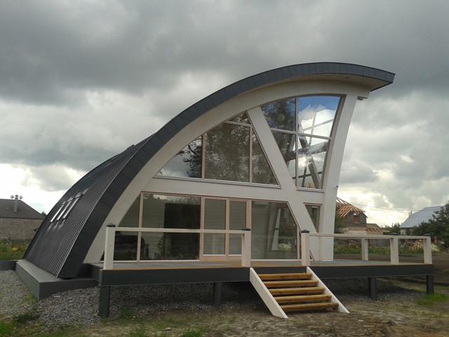 modern frame houses modern exterior