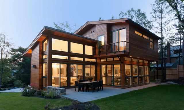 Modern Home Contemporary Exterior Boston By Davis