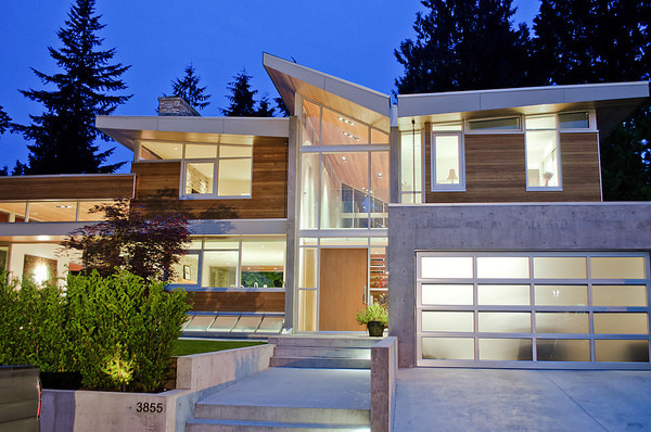 Modern Home Modern Exterior Vancouver By Werner Construction Ltd
