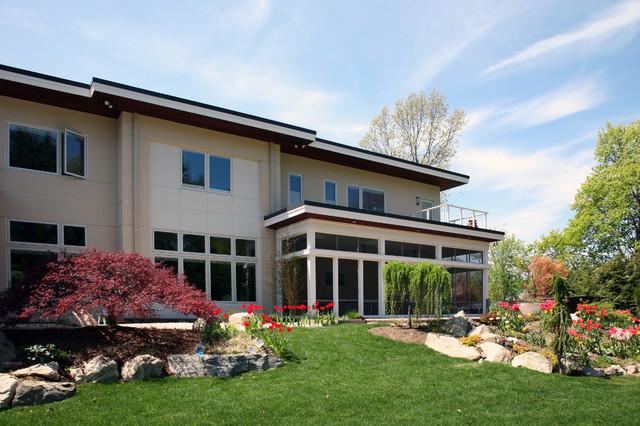 Modern House modern-exterior