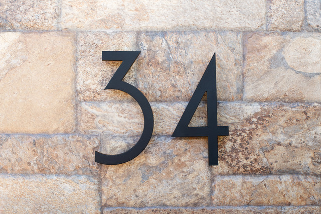 modern house numbers modern exterior phoenix by modern house numbers