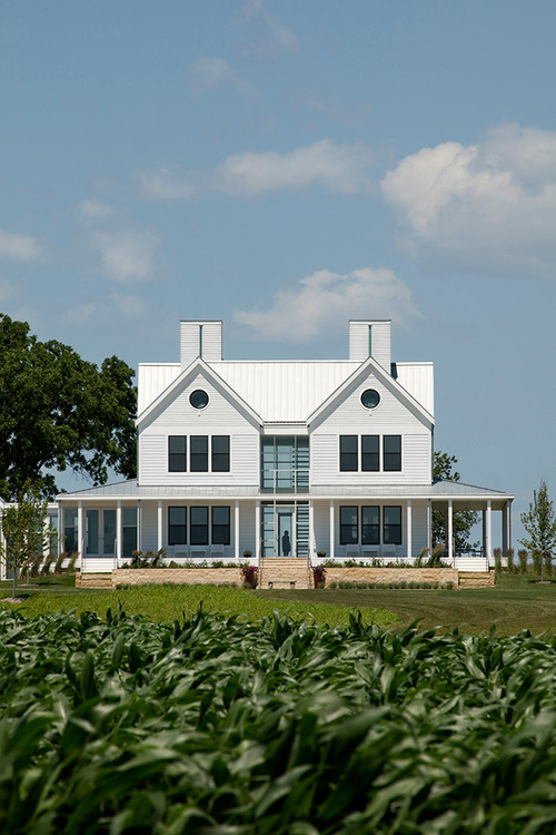 What as the cost of the build of this amazing farm house for Cost to build farmhouse
