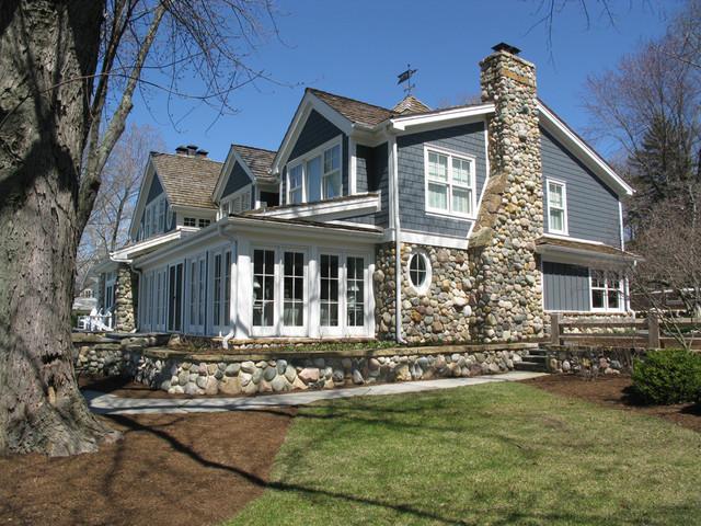 Modern Lake Cottage Modern Exterior Indianapolis By Gary Nance Design
