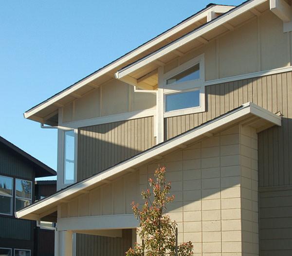Modern materials midcentury exterior san francisco for Modern exterior building materials